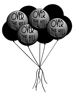 48+ Over The Hill Clip Art | ClipartLook