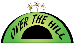 Over The Hill Clip Art