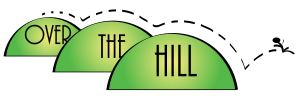 over the hill clipart