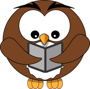 Owl Reading Clipart-owl reading clipart-3