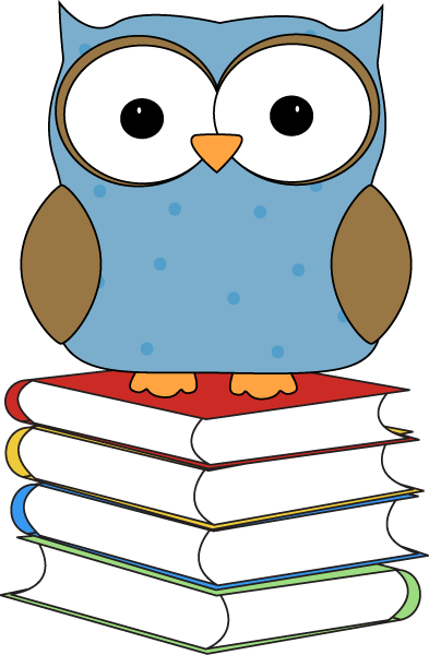Owl Reading Clipart-owl reading clipart-5