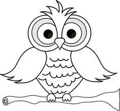 Owl Black White Clipart. b385d7c2562294f5e1cf9bbf25a5b1 .