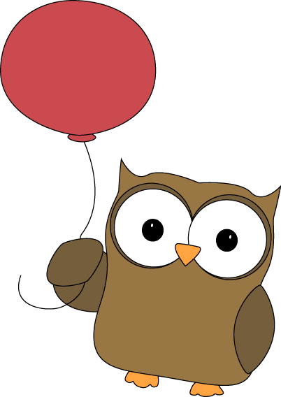 Owl Carried Away by Balloon