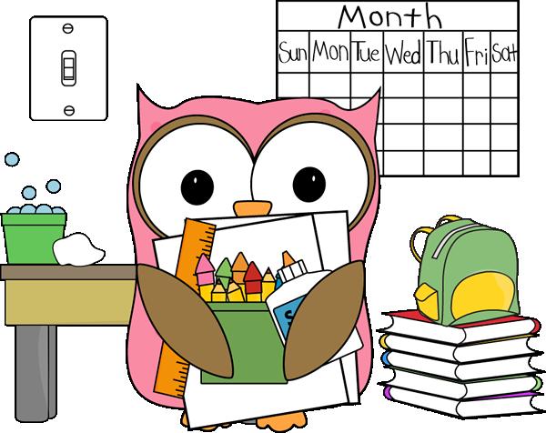 Owl Classroom Job Subsitute - Free Classroom Clipart