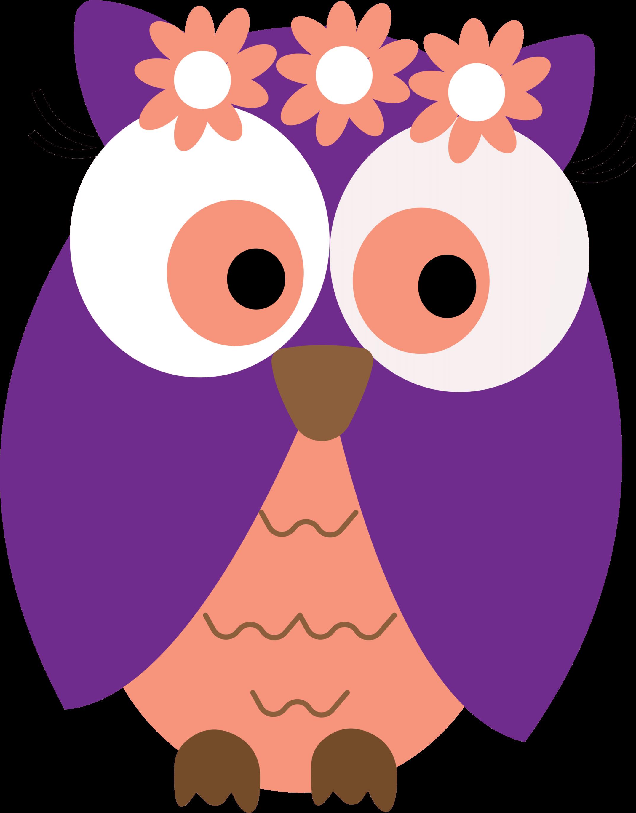 Owl clipart 3