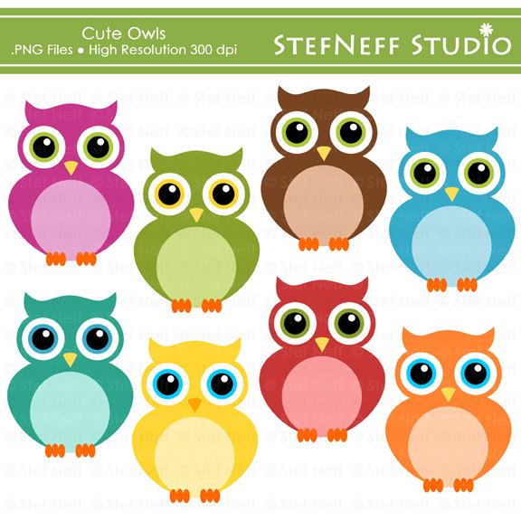 Owl Cute Clipart - Clipart Kid-Owl Cute Clipart - Clipart Kid-16