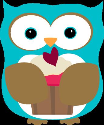Owl Eating a Cupcake-Owl Eating a Cupcake-15