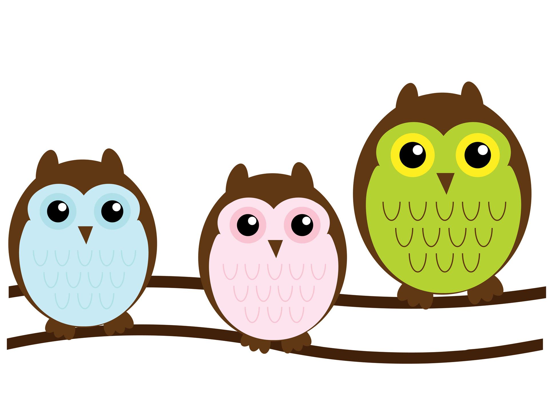 ... Owl Family Cute Clipart ...