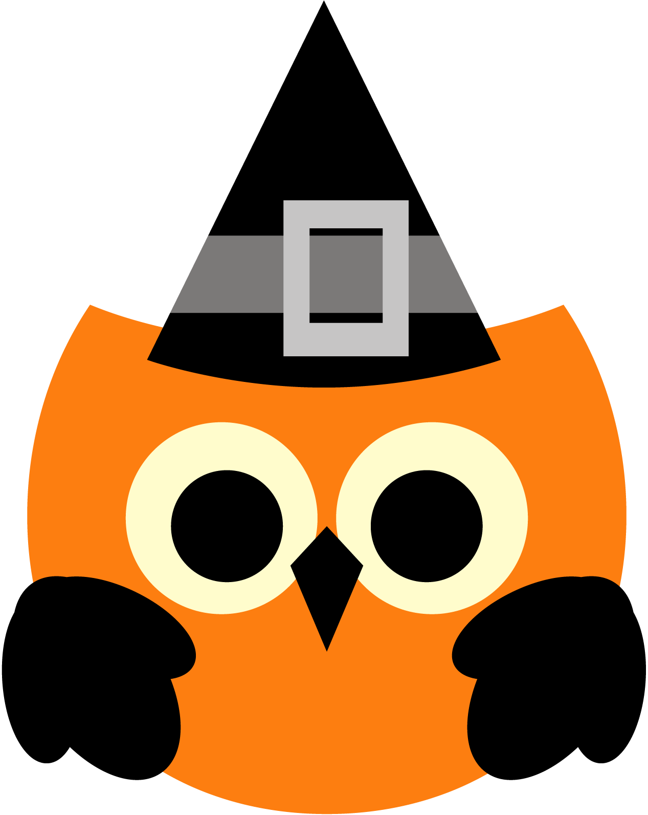Owl Halloween Clipart Freebie Free Clip Art Graphic Revidevi