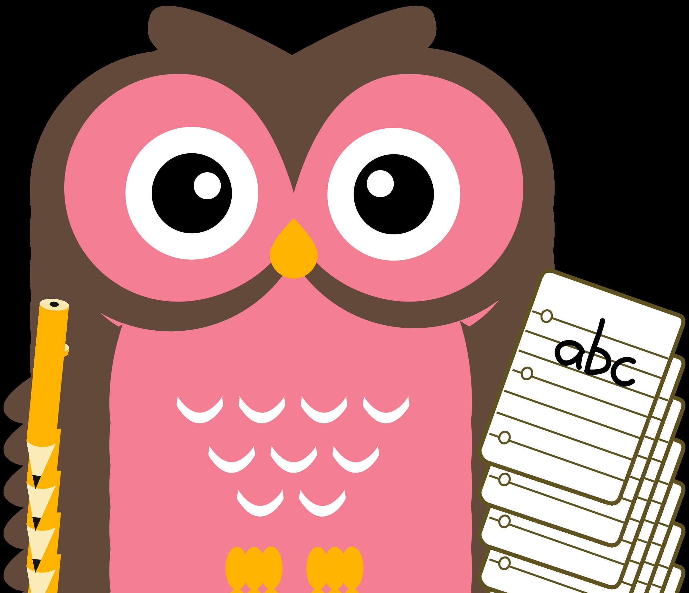Owl Homework Clipart