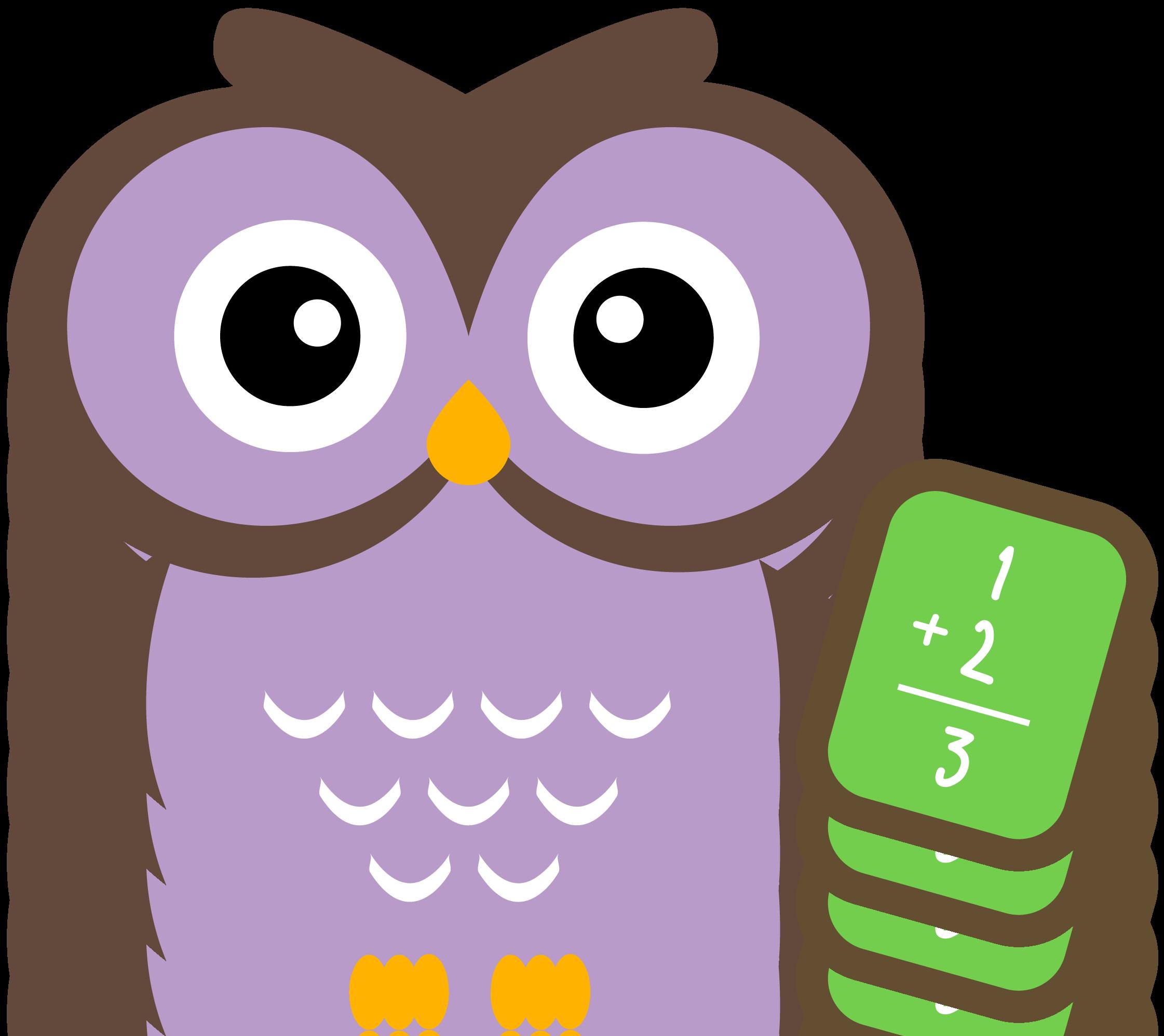 Owl Math Clip Art. owl math clip art