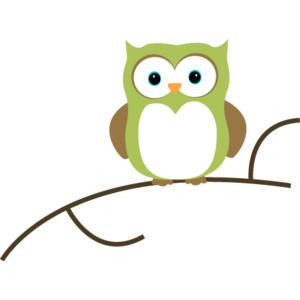 Owl On A Branch Clip Art-Owl on a Branch Clip Art-8