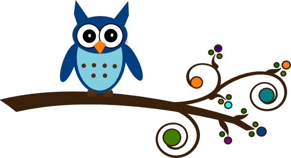 Owl On Branch-Owl On Branch-10
