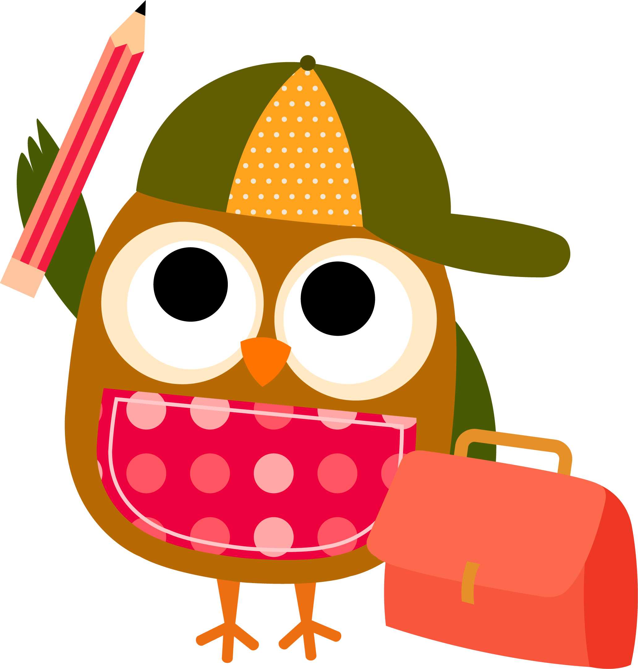 Owl Reading Clipart-Owl Reading Clipart-8