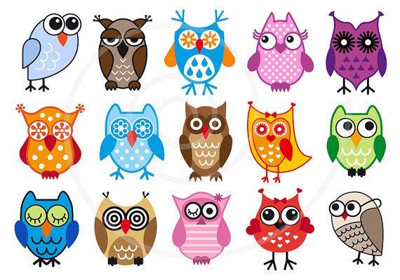 Owls Clip Art - Blogsbeta