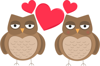 Owls in Love Valentines Day Clip Art-Owls in Love Valentines Day Clip Art-3