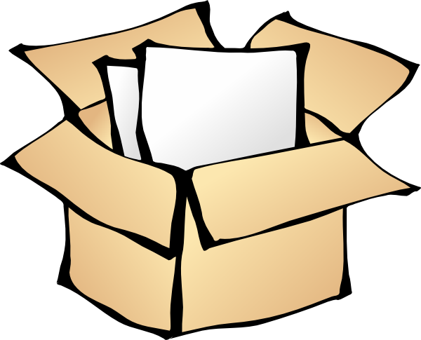 Package clip art - vector cli - Package Clip Art
