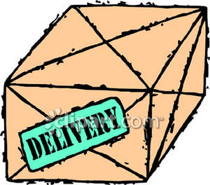Package Delivery Clipart Imag - Package Clip Art