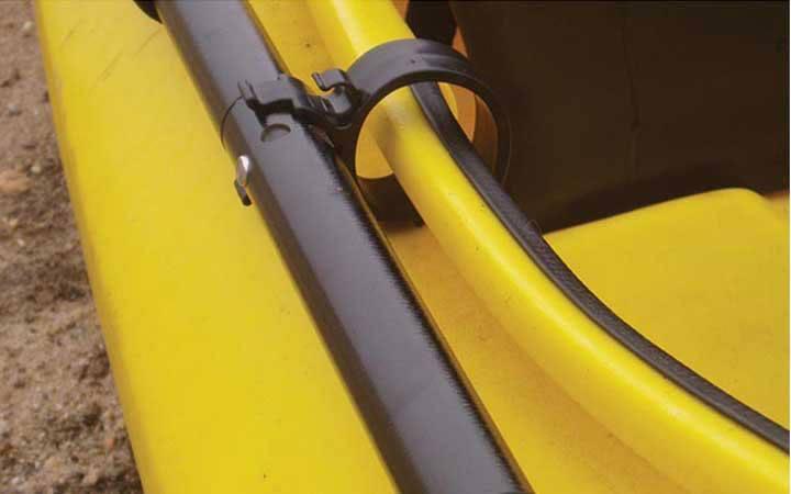 Paddle Holders/Leashes - Cascade Creek Yakclips Sit Inside Kayak Paddle Clip ...