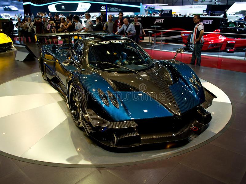Download Pagani Huayra Geneva 2014 editorial photography. Image of racing -  39471717