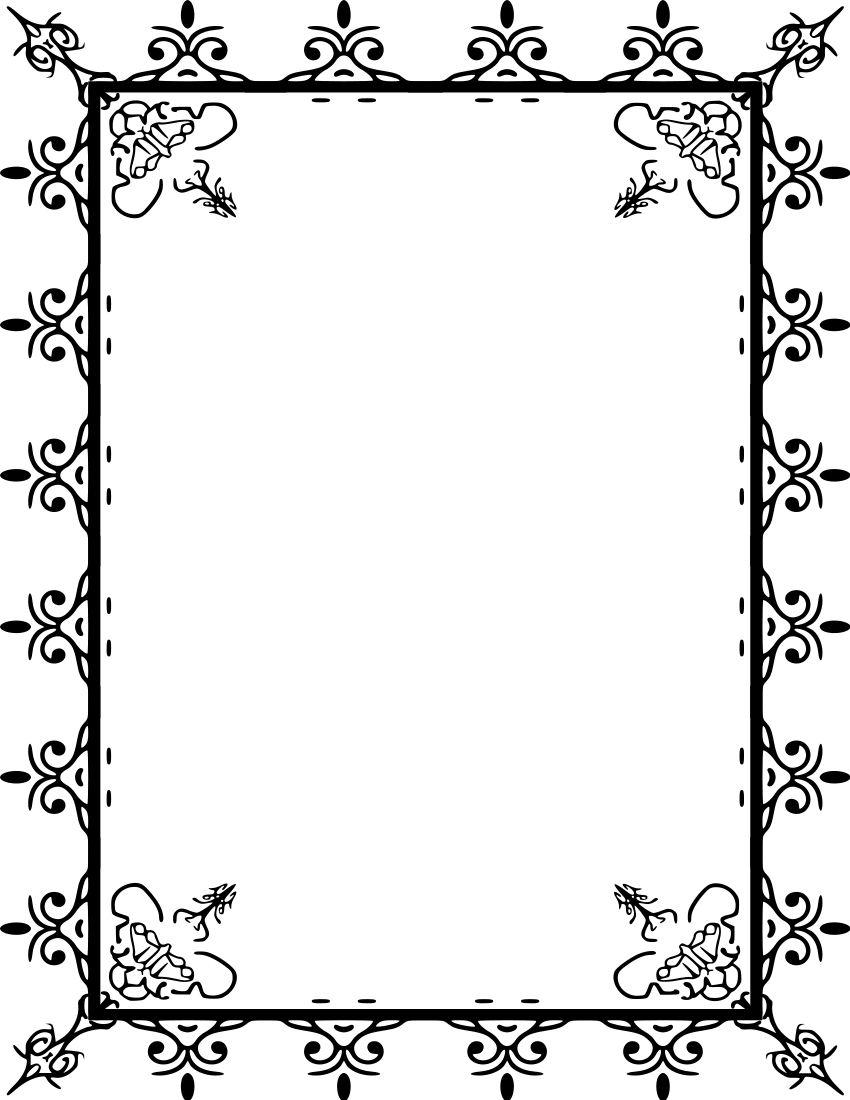 Page Border Clip Art - Clipart library