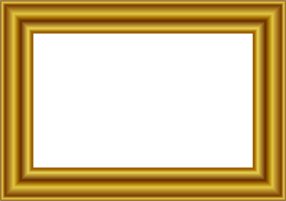 Page Frames More Frames Gold Frames Gold Frame Rectangle 3 Png Html
