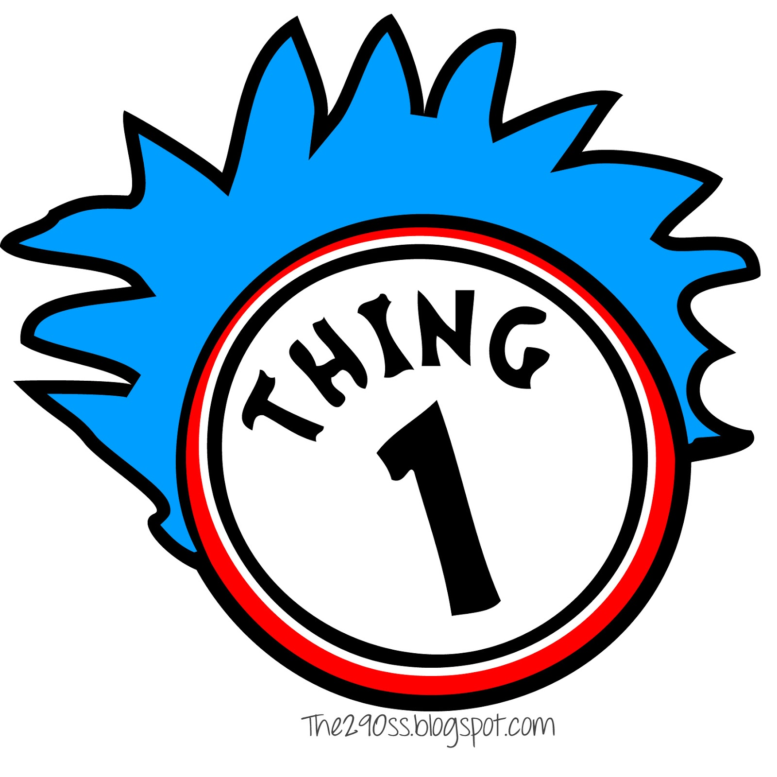 Pages Thing 1 And Thing 2 Clipart Panda Free Clipart Images