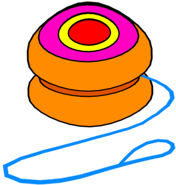 Pages Yoyo Coloring Pages For Kids Yoyo -Pages Yoyo Coloring Pages For Kids Yoyo Vector Yoyo Clip Art-5