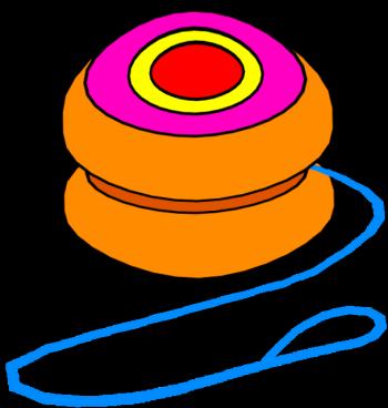 Pages Yoyo Coloring Pages For Kids Yoyo Vector Yoyo Clip Art