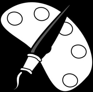 Paint Brush Clip Art Black And White Cli-Paint Brush Clip Art Black And White Clipart Panda Free Clipart-2