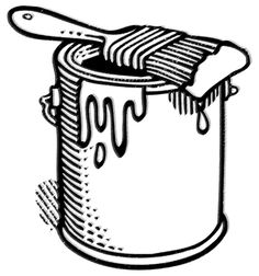 Paint Can Clip Art - Paint Can Clip Art