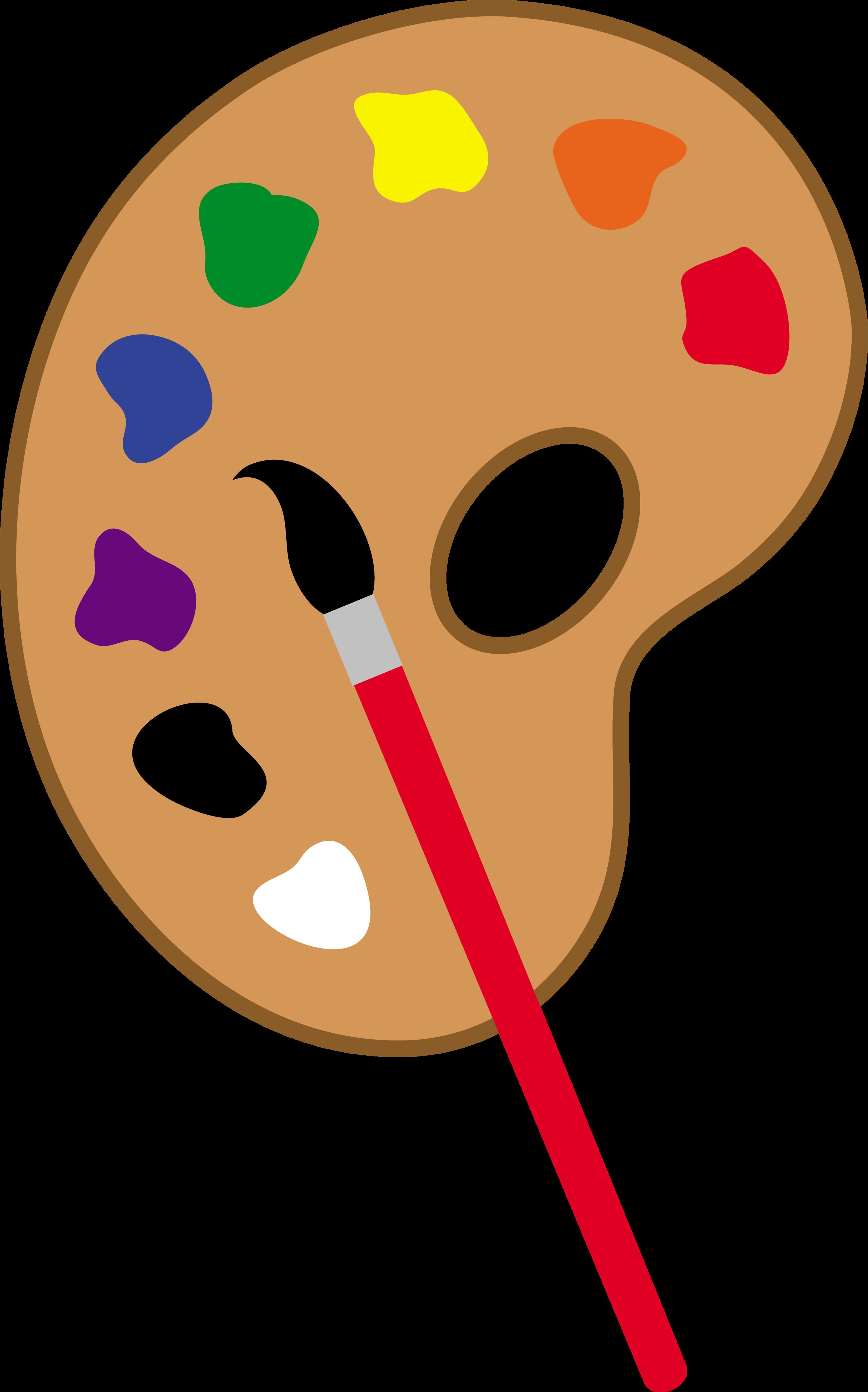 Paint Palette Clip Art-Paint Palette Clip Art-13