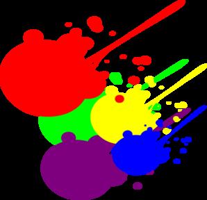 Paint Splatter Clip Art Free