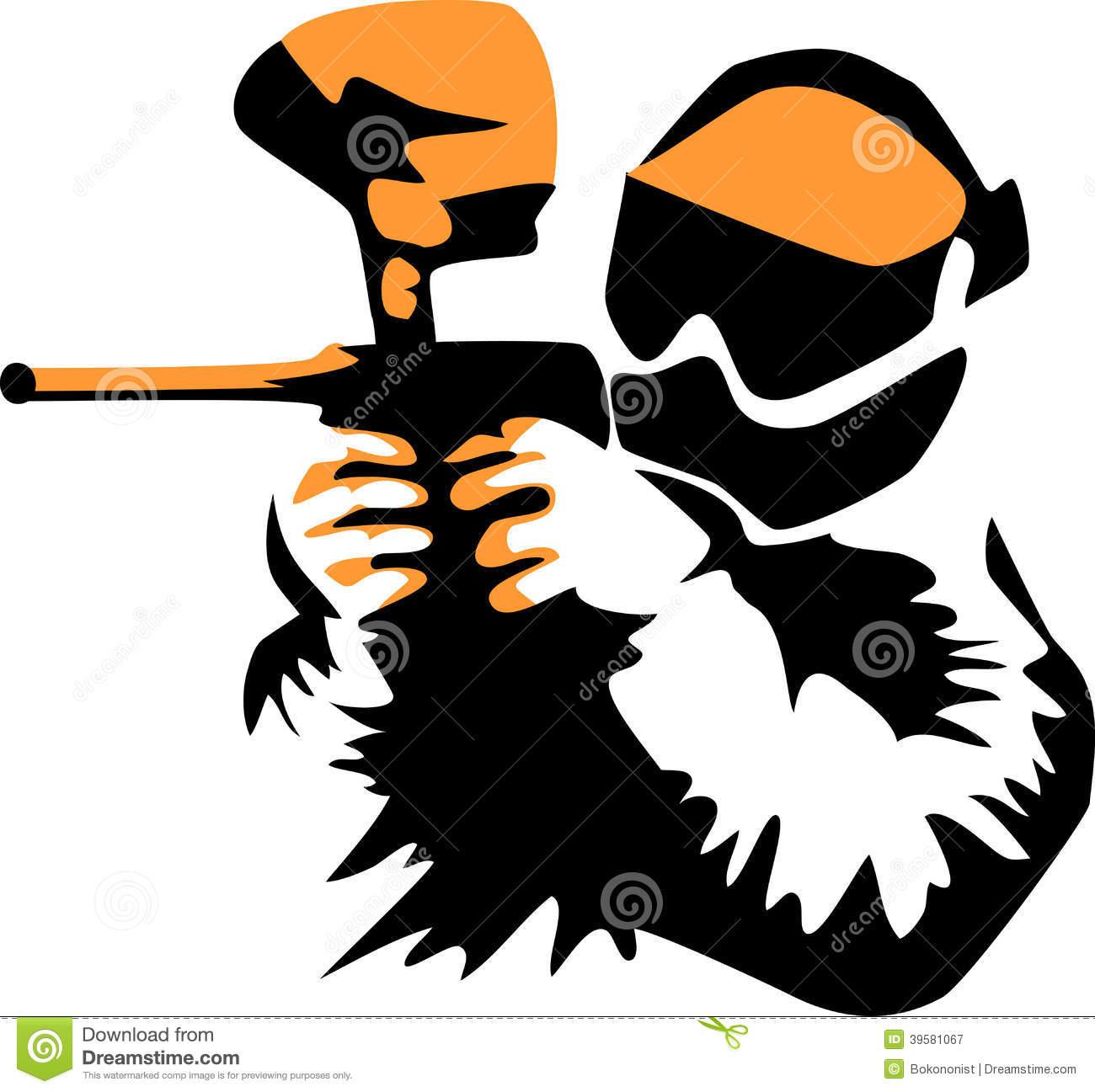 Paintball Black Clipart - Paintball Clip Art