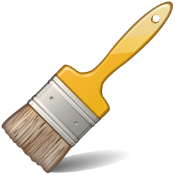 Paintbrush artist paint brush clip art free clipart images image 2