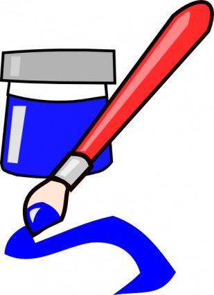 Paintbrush Clipart Free-Paintbrush Clipart Free-7