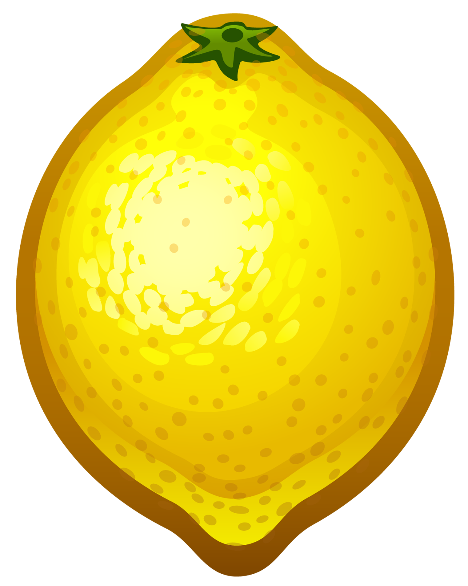 Painted Lemon PNG Clipart-Painted Lemon PNG Clipart-14
