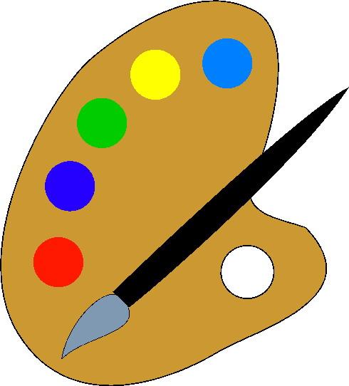 Painting clip art