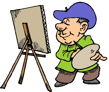 Painting clip art-Painting clip art-0