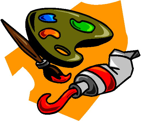 Painting clip art-Painting clip art-8