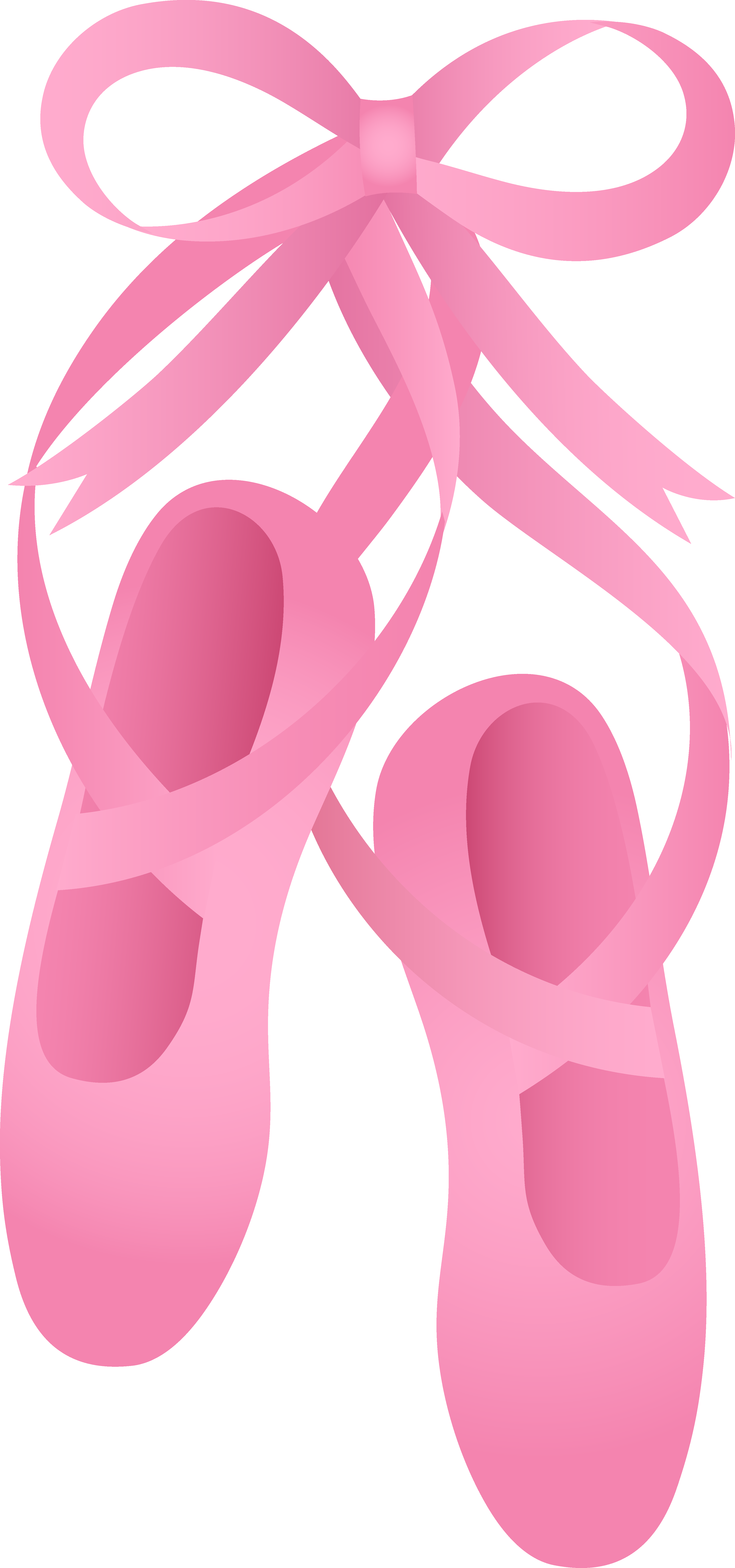 Pair of Pink Ballet Slippers