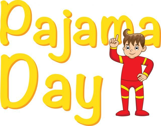 Pajama Day, Pto Today And Clip .-Pajama day, Pto today and Clip .-10