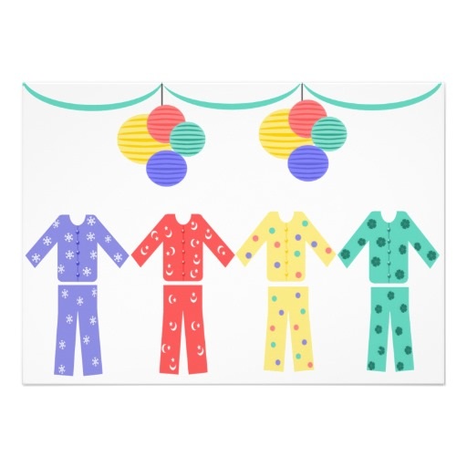 Pajama Party Clip Art Free Cliparts Co