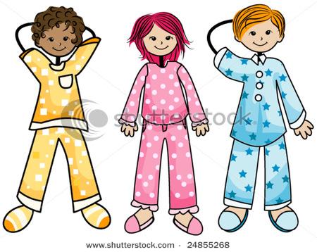 Pajamas Clip Art-Pajamas Clip Art-14