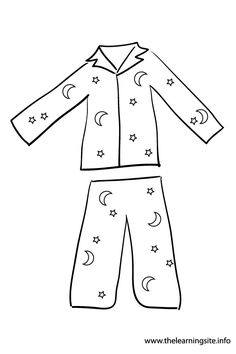 Pajamas cliparts