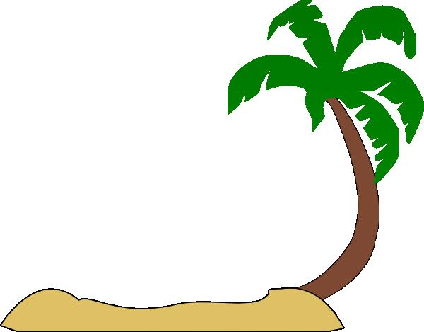palm tree beach clipart-palm tree beach clipart-1