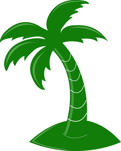 Palm Clip Art - Coconut Tree Clipart