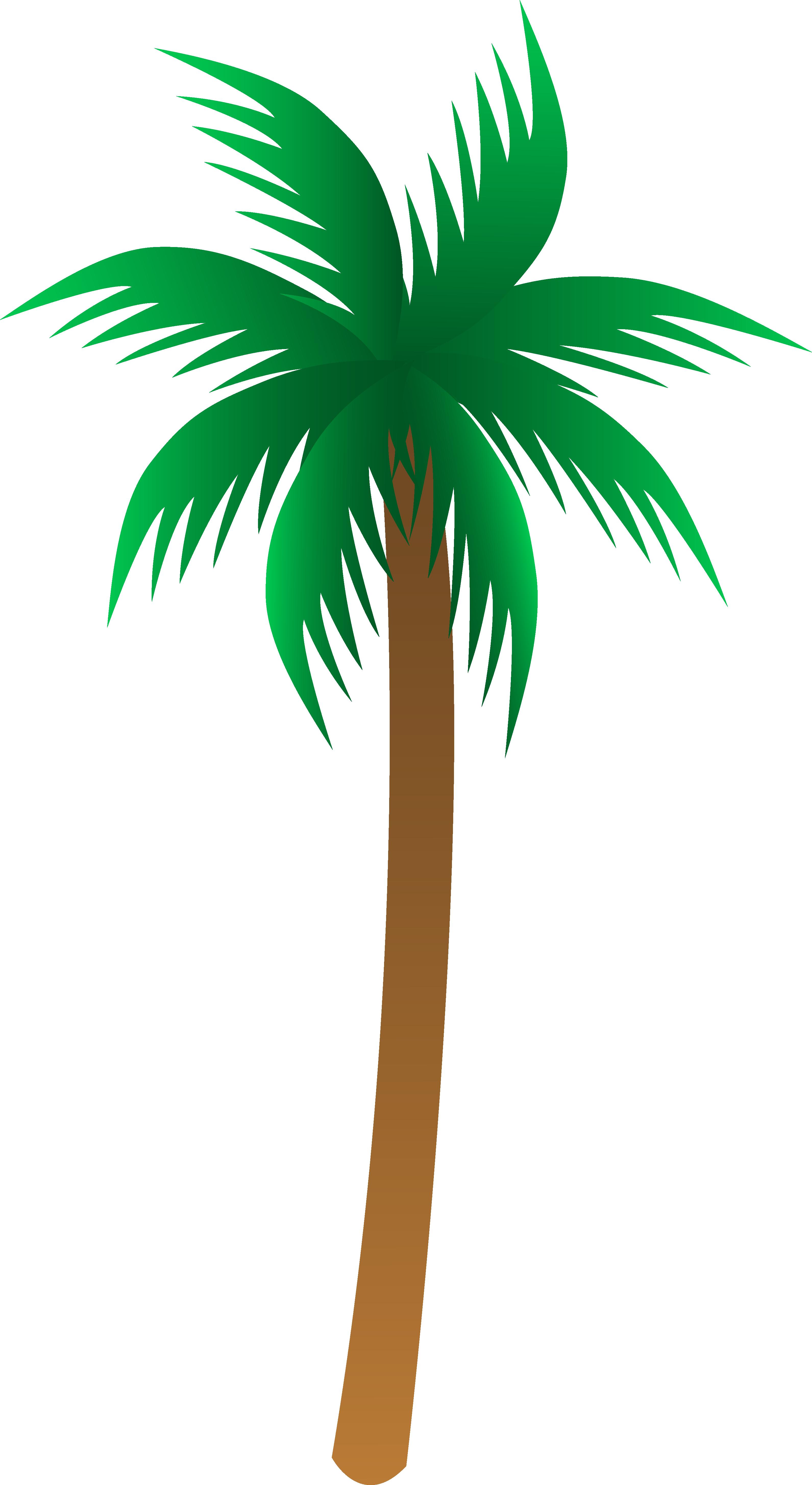 Palm tree art tropical palm trees clip 2 clip art 2
