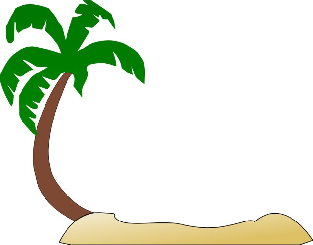 Palm tree art tropical palm trees clip 2 clipart 3