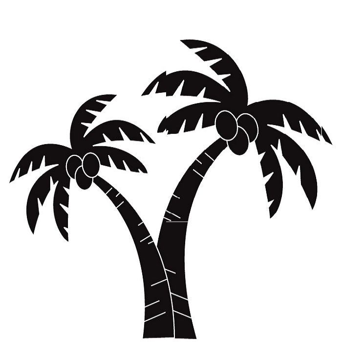 Palm Tree Art Tropical Palm Trees Clip 3-Palm tree art tropical palm trees clip 3 clip art 2-11